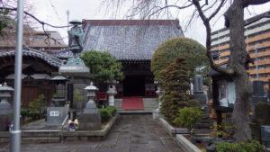 足立区竹の塚でお寺を嵩上げ